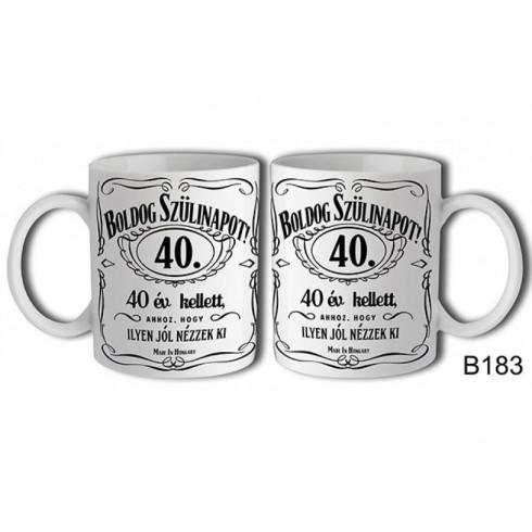 Boldog Szülinapot Jack 40